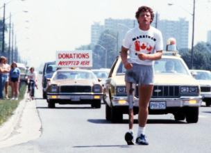 Remembering Terry Fox, 22 year old cancer patient