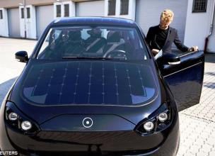 The Future Is Now: German Start-up Tests Solar Powered Vehicle