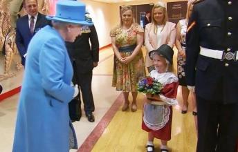 6 Year Old Maisie Got More Than She Bargained For After She Gave Queen Elizabeth II Some Flowers