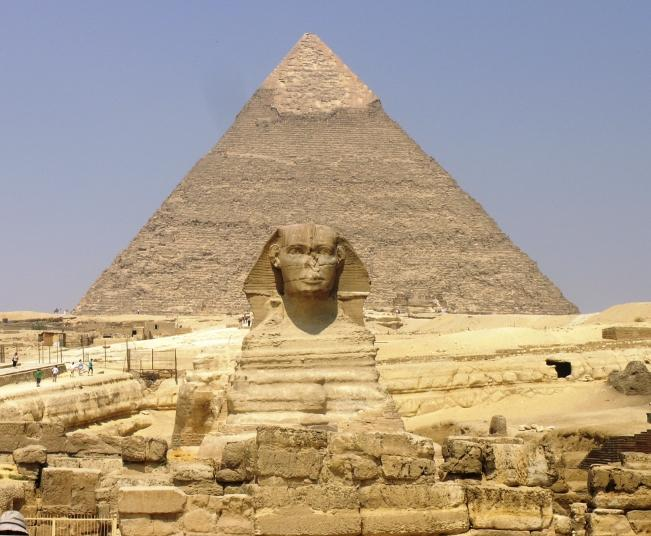 Pyramids of Giza - One of the most mysterious places in the world