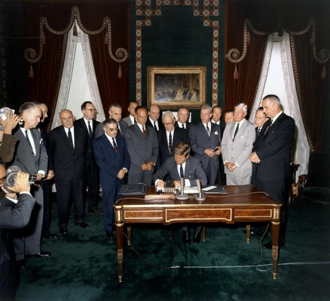 The Partial Nuclear Test Ban Treaty of 1963 - The underrated treaty that prevented World War III
