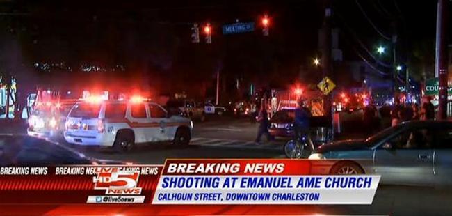 Shooting In Charleston Church South Carolina - 9 Dead