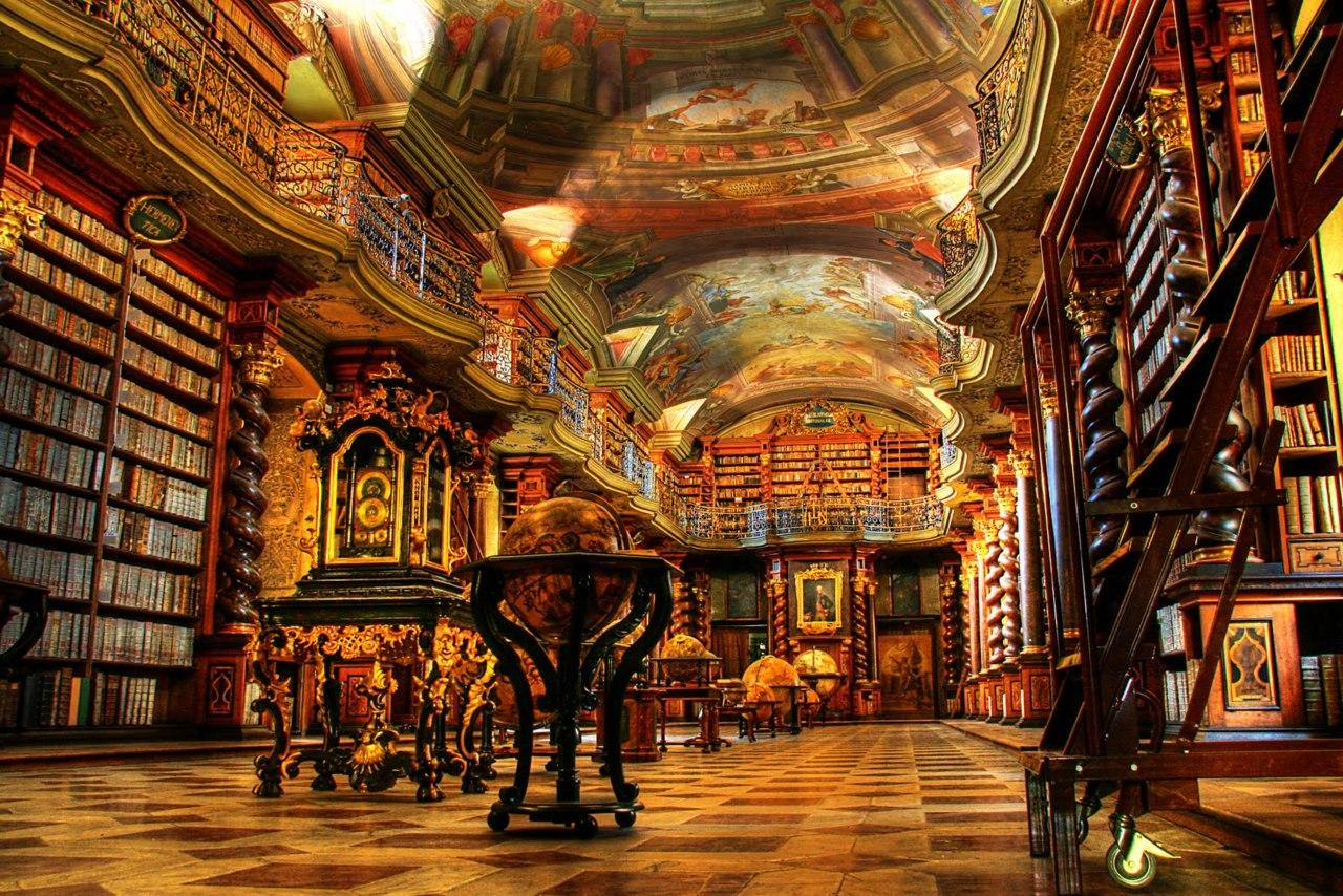 Clementinum in Prague is one of the world's most beautiful libraries |  DocumentaryTube