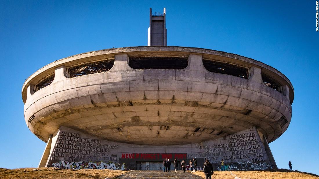 Buzludzha Monument – Abandoned UFO Cold War Monument