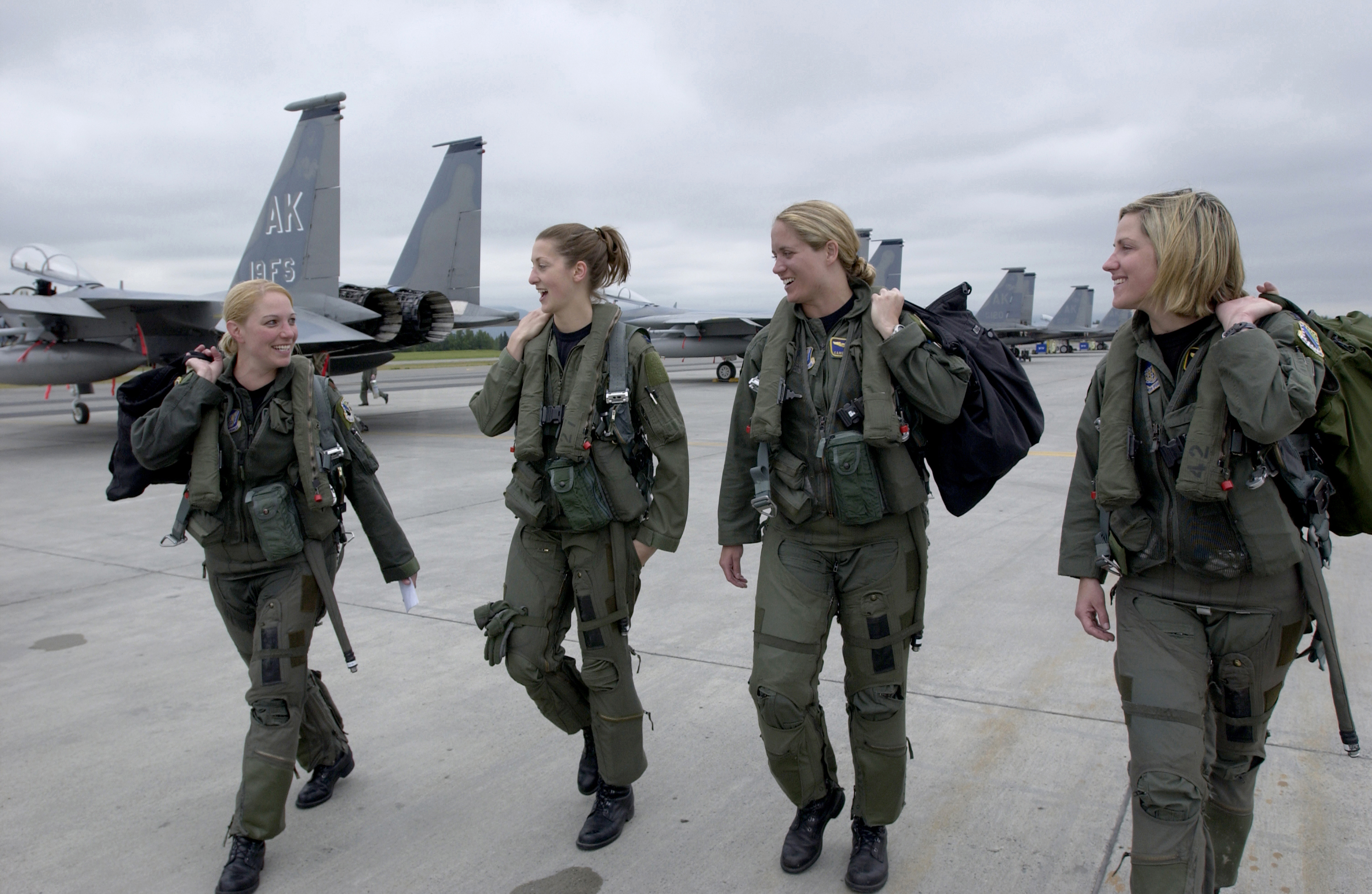 How women got into the military? A timeline of events