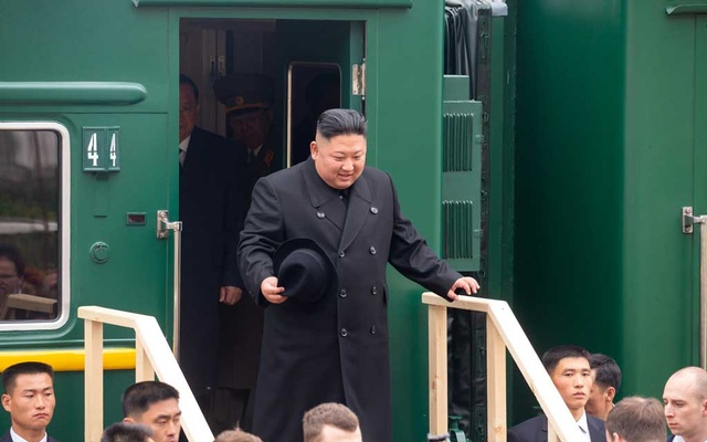 Inside the Private Train of Kim Jong-un, Top Security Train