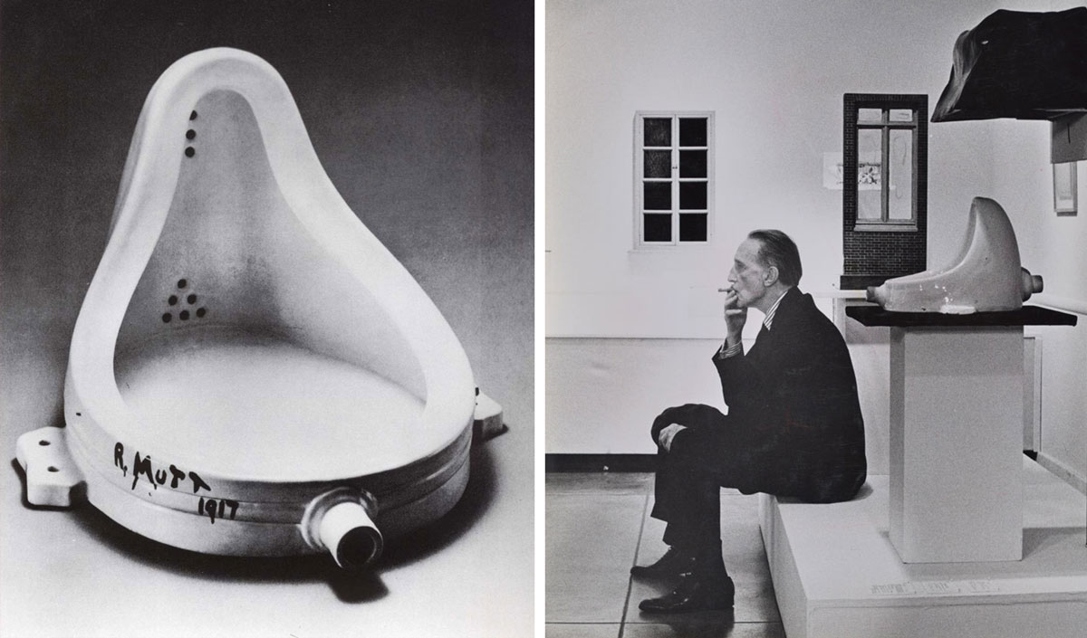 Marcel Duchamp's Fountain – Absurd piece that Changed Art Forever