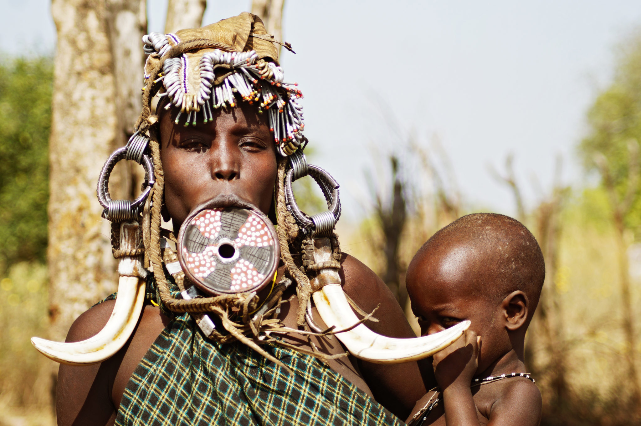 Mursi Tribe – The Larger the Lip Plate, the Bigger the Bride Wealth