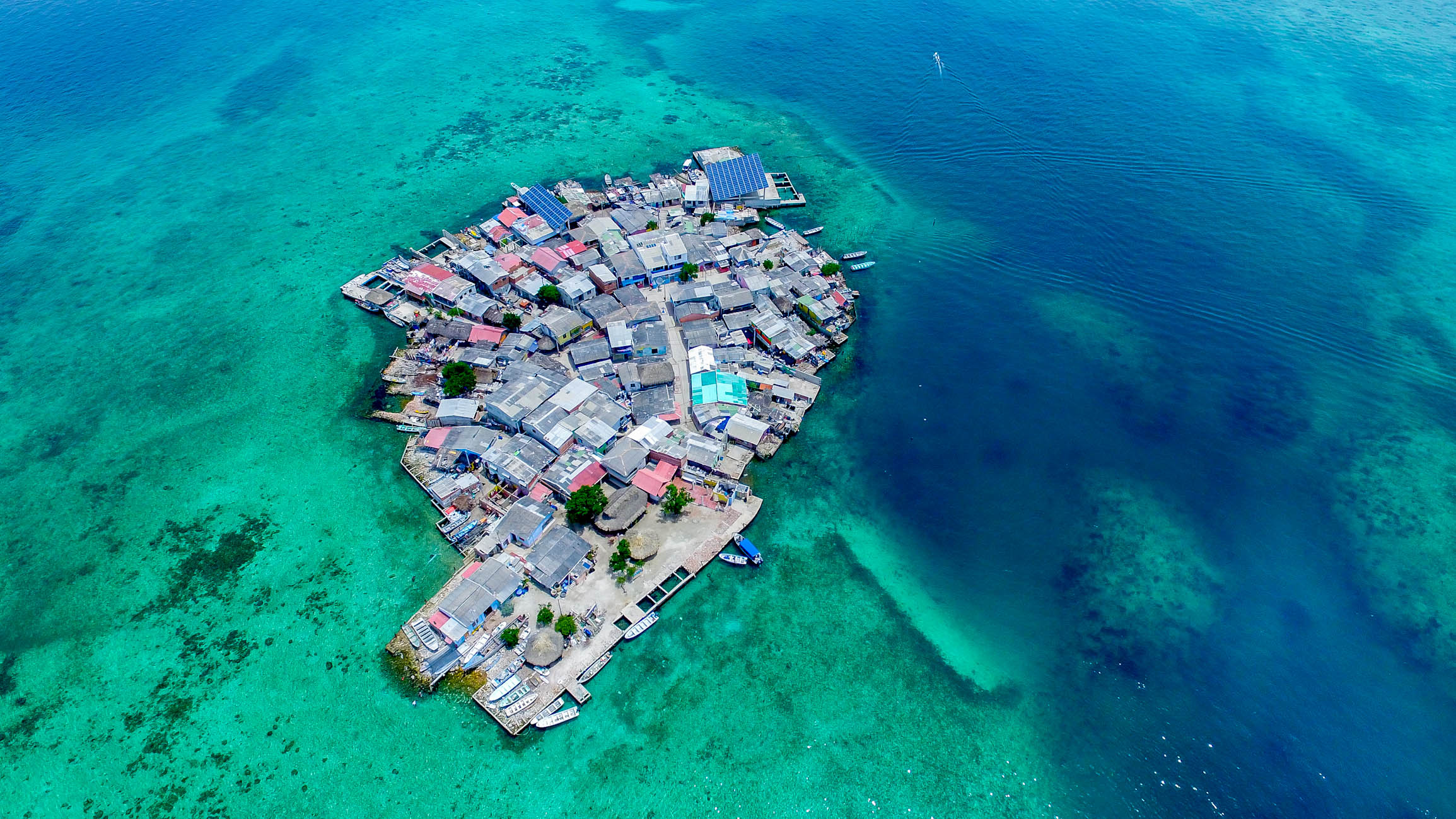 Santa Cruz del Islote – Most Densely Populated Island in the World
