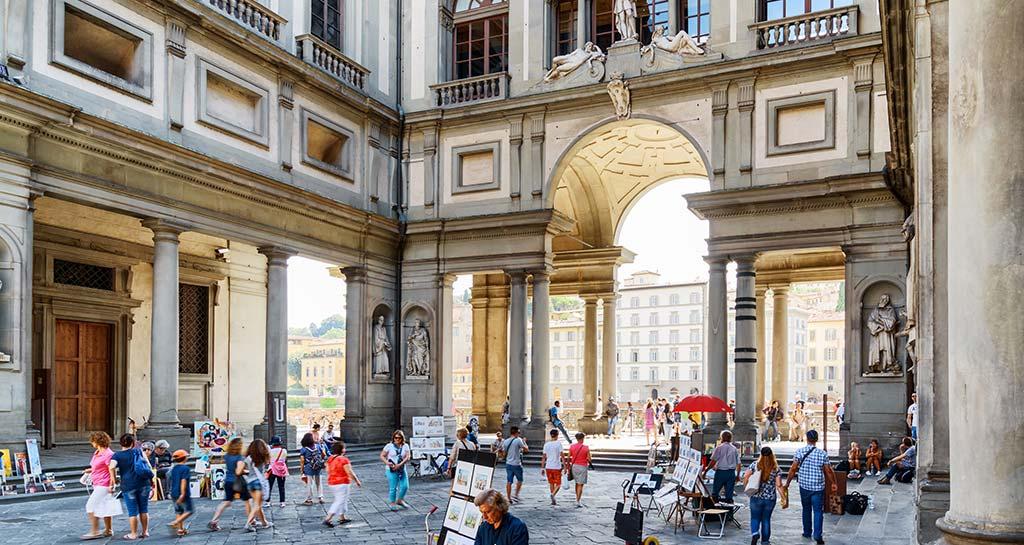 Uffizi Gallery – First Modern Art Museum in Europe