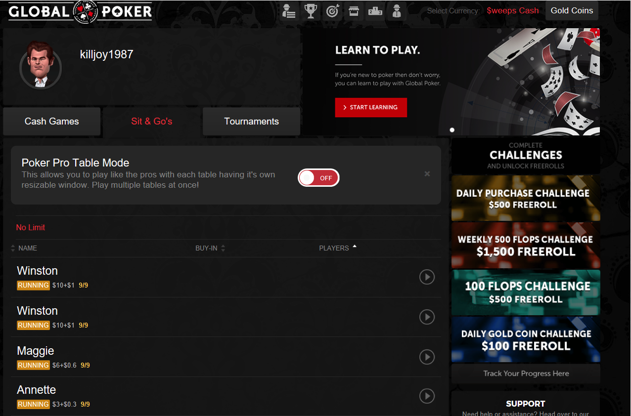 Global Pokerscreenshot thumbnail