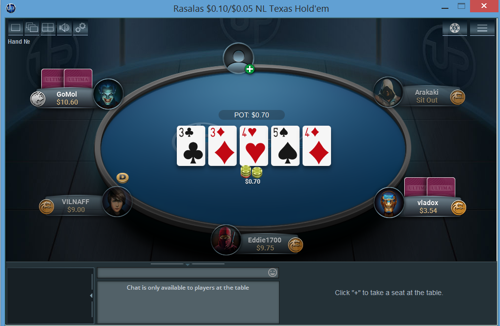 Ultima Poker screenshot thumbnail