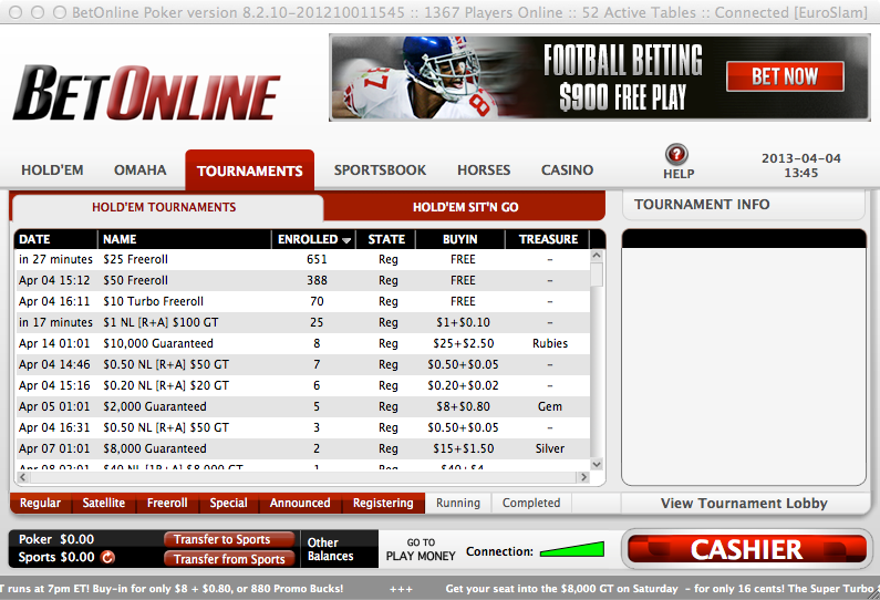 Betonline ag poker review world series of poker main event payout structure 2013