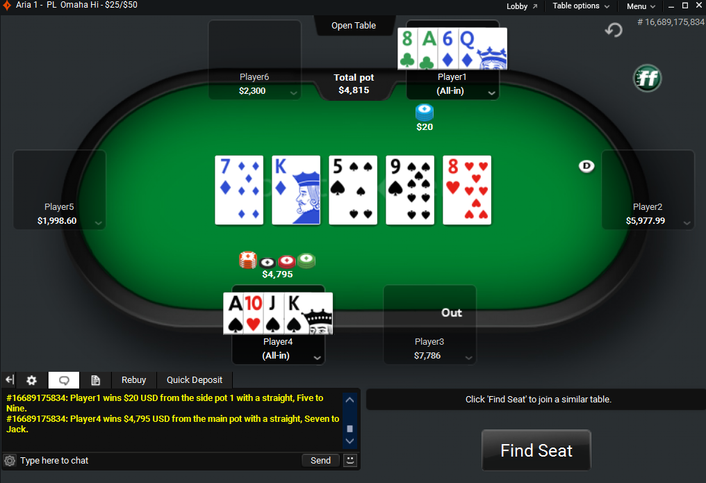 Party Poker Online Chat Support