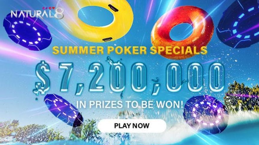 $7.2 Million in Giveaways On Natural8 - Only in June!