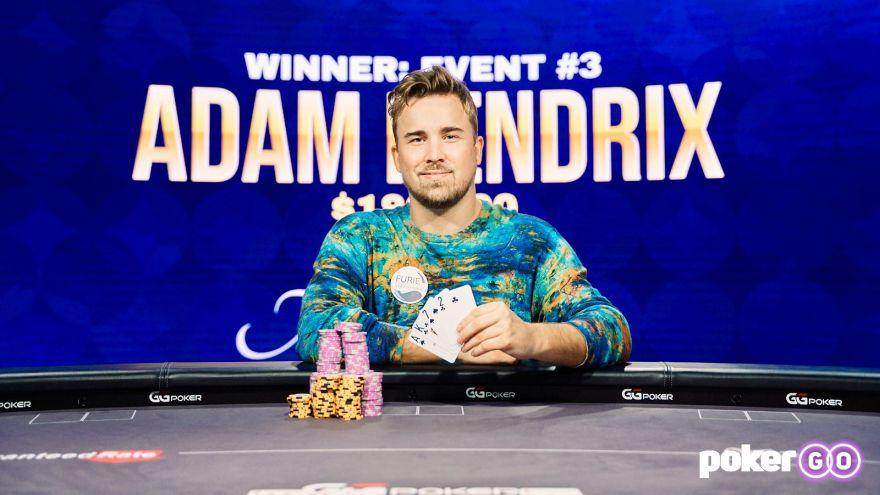 Adam Hendrix wins Poker Masters $10k PLO for $186,300