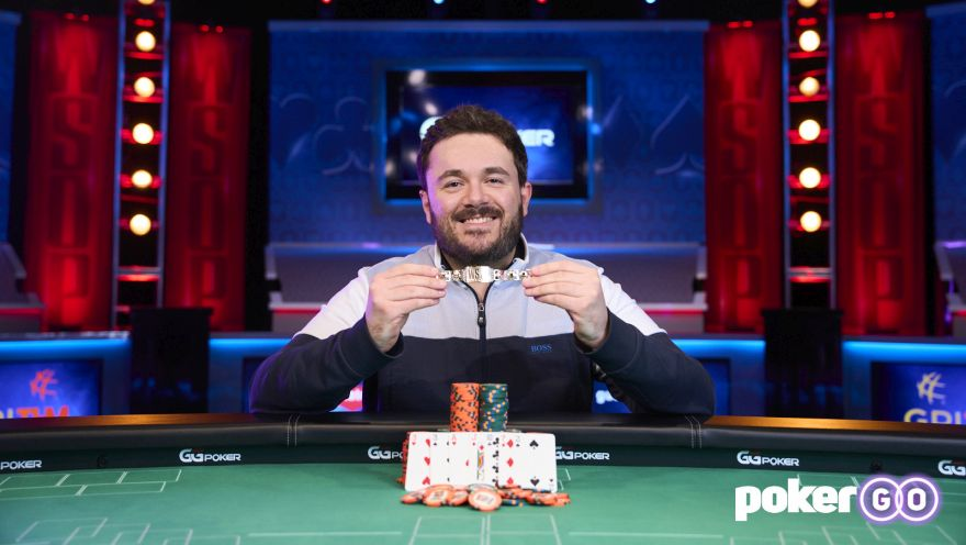 Anthony Zinno Wins WSOP Event #19: $10,000 Seven Card Stud Championship for $182,872