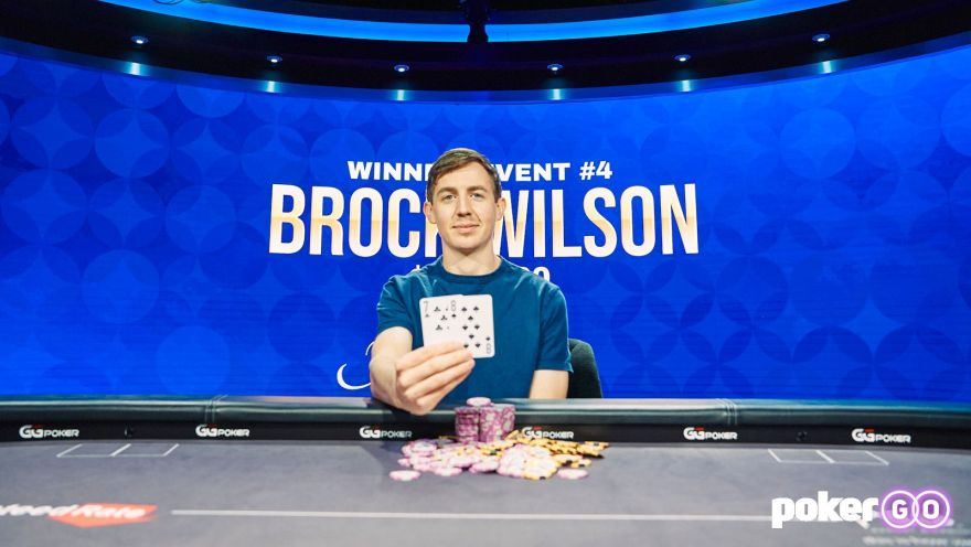 Brock Wilson wins Poker Masters Event 4 for $189,800