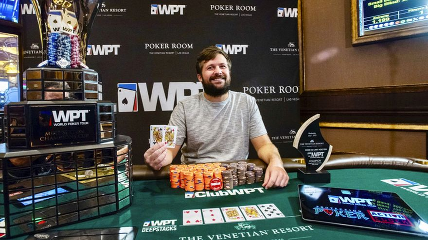 Chad Eveslage Makes It 3 Out of 3 WPT Wins with $910,370 Venetian Victory