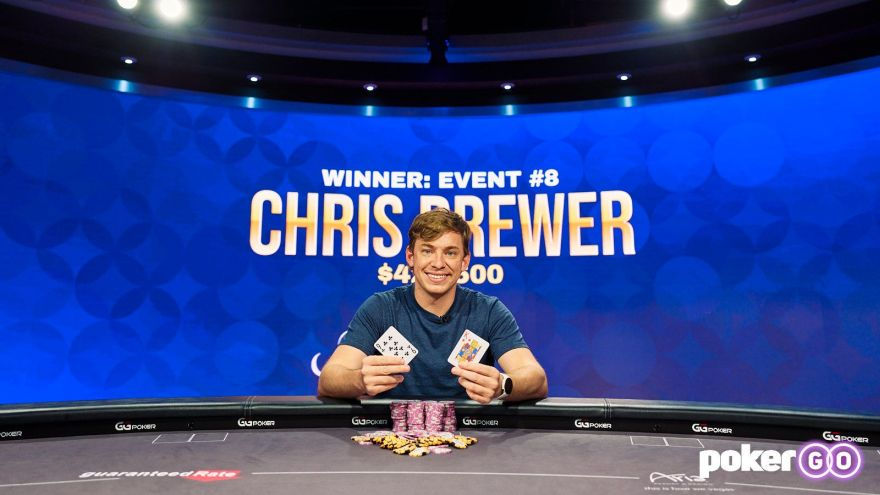 Chris Brewer wins Poker Masters $25k Event 8 for $427,500