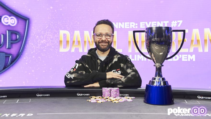 Daniel Negreanu Ends Heads-up Hoodoo with Stunning PokerGO Cup Victory for $700,000