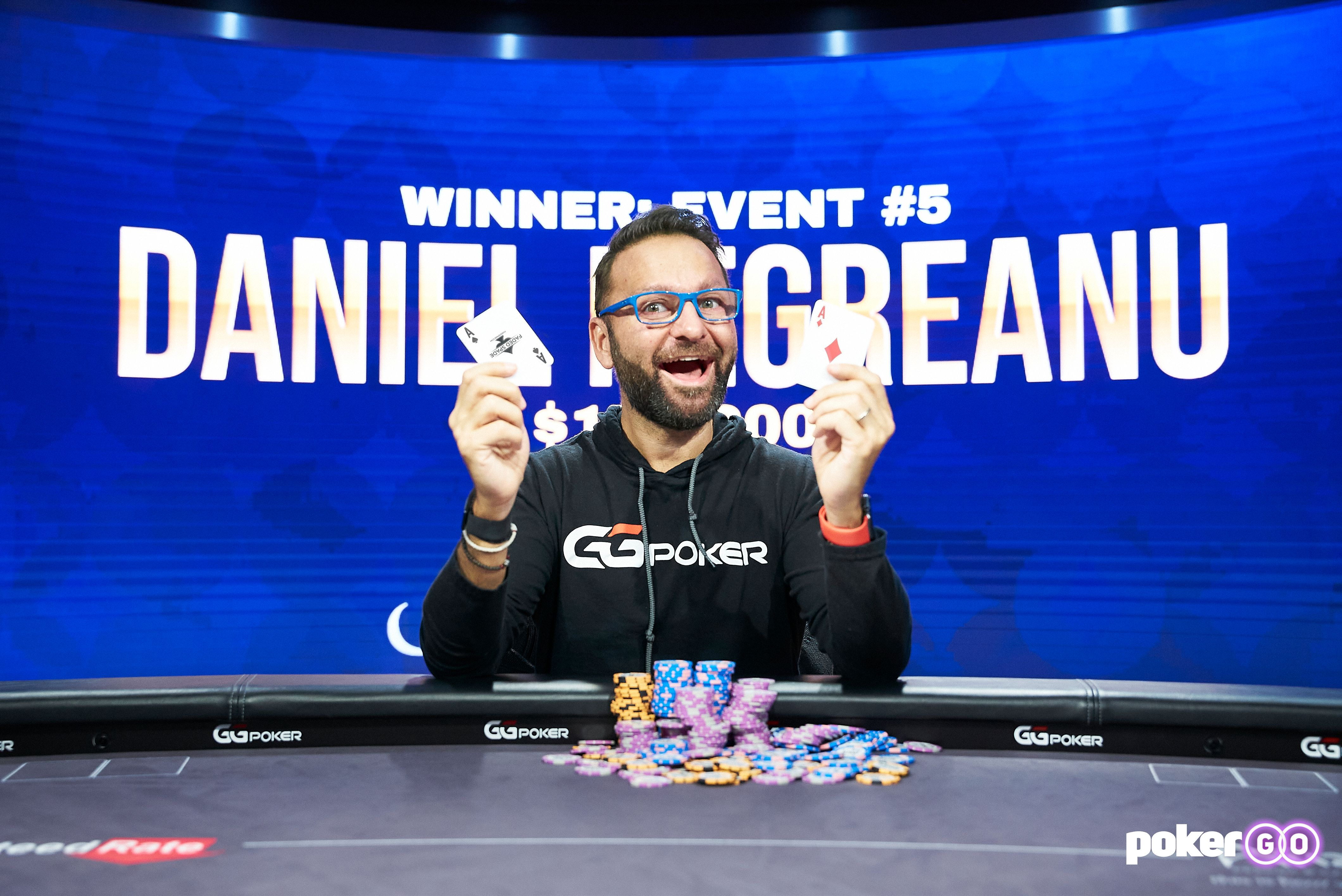 Daniel Negreanu wins Poker Masters Event 5 for $178,200