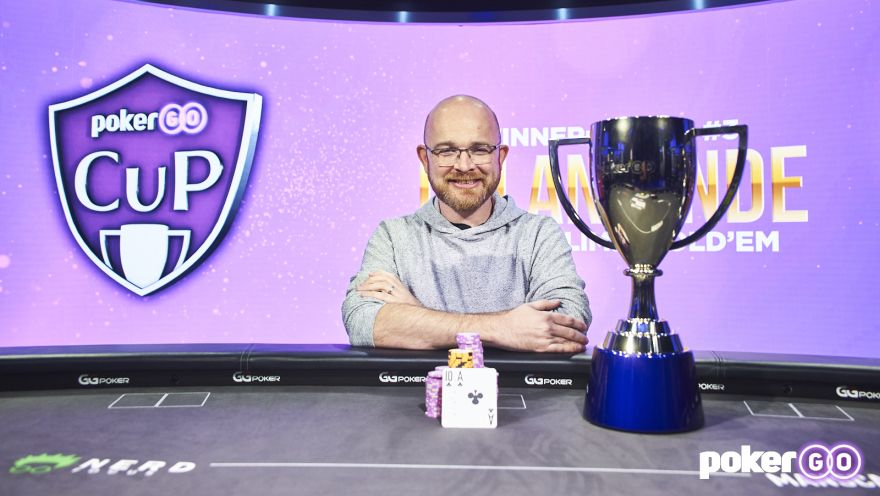 Dylan Linde wins PokerGO Cup Event 3 for $169,600