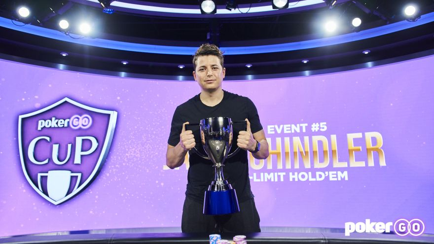 Jake Schindler Takes Down $25k Buy-in PokerGO Cup Event 5 for $324,000