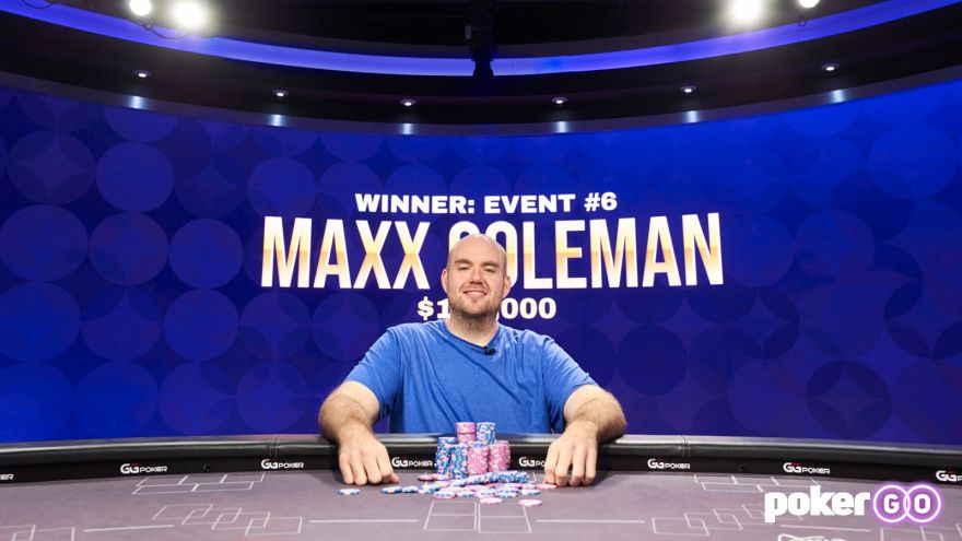 Maxx Coleman wins Poker Masters 8-game Title for $120,000