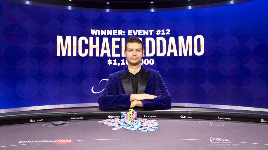 Michael Addamo wins Poker Masters Main Event for $1,160,000