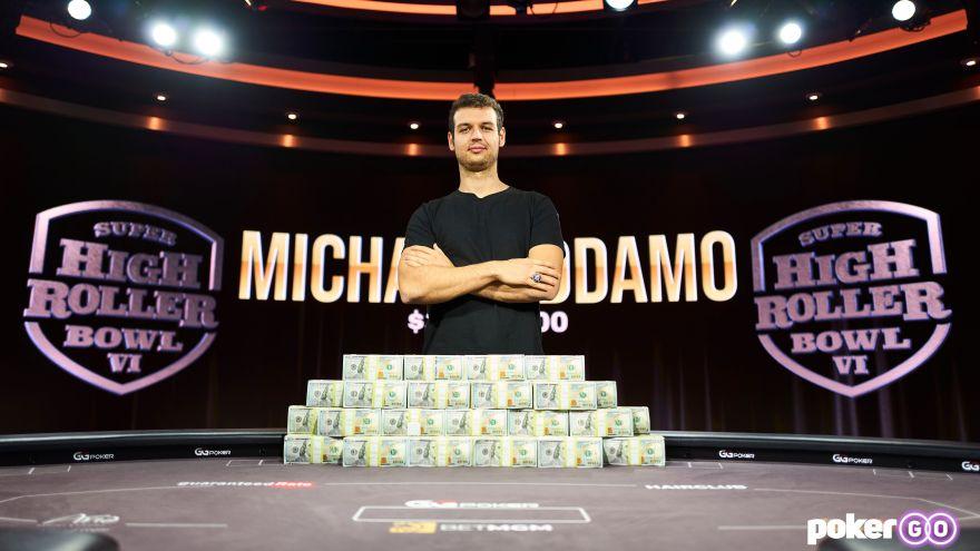 Michael Addamo wins Super High Roller Bowl VI for $3.4million