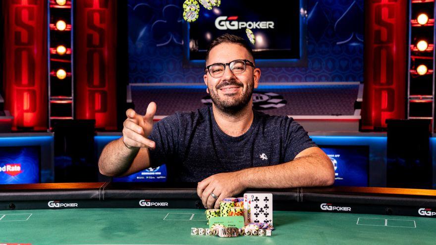 Michael Perrone wins WSOP Event #10 - $1,000 Super Turbo Bounty NL Hold'em for $152,173