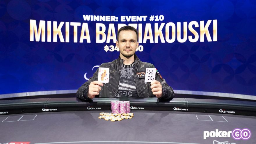 Mikita Badziakouski wins Poker Masters Event 10 for $342,000