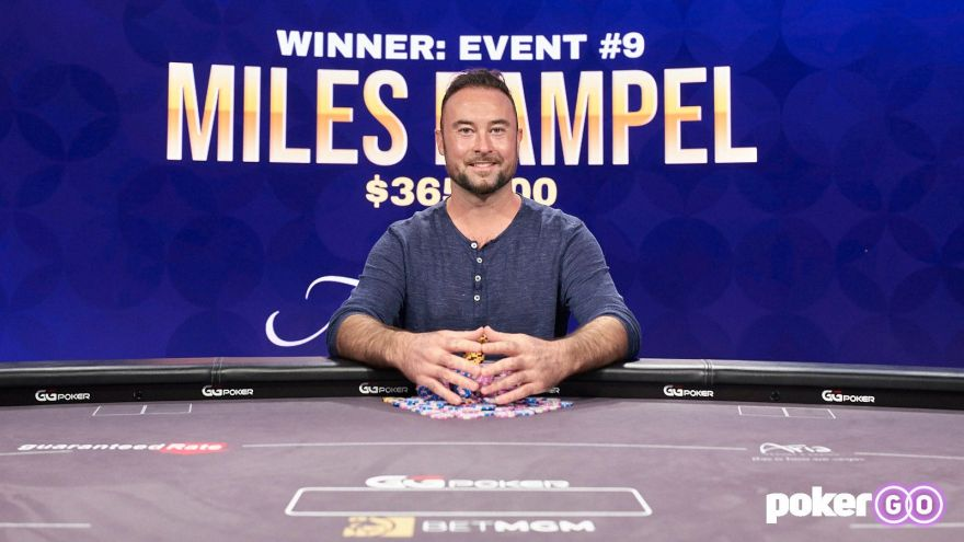 Miles Rampel wins Poker Masters $25k PLO Title for $365,500