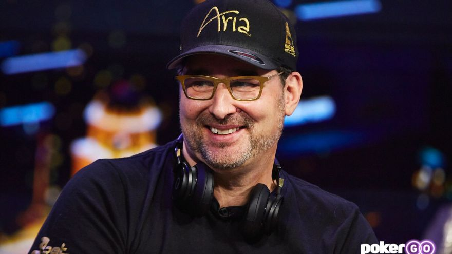 Phil Hellmuth Films Poker After Dark With Ted Cruz