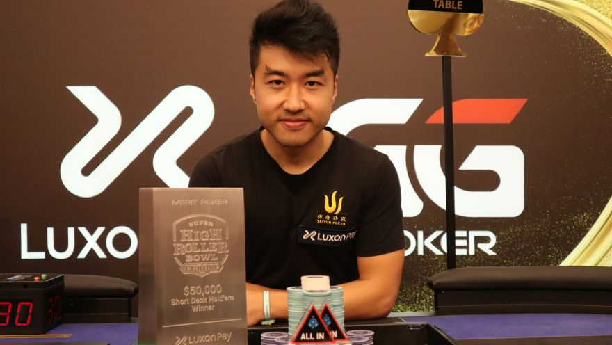 Santi Jiang wins SHRB Europe Short Deck Title and $756,000