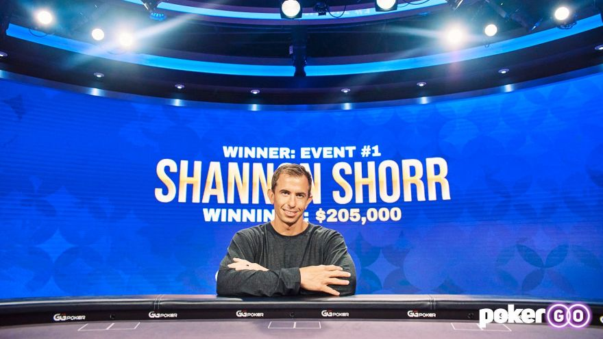 Shannon Shorr wins Poker Masters Event 1 for $205,000