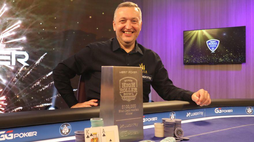 Tony G wins $100k SHRB Europe Short Deck Title for $1,169,000