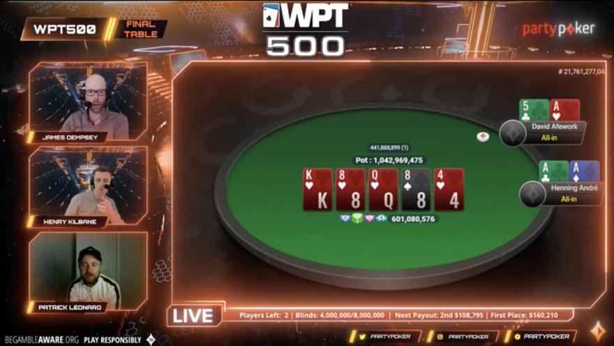 WPT500 Winner Disqualified - David Afework Loses Career Best $160,210 Prize