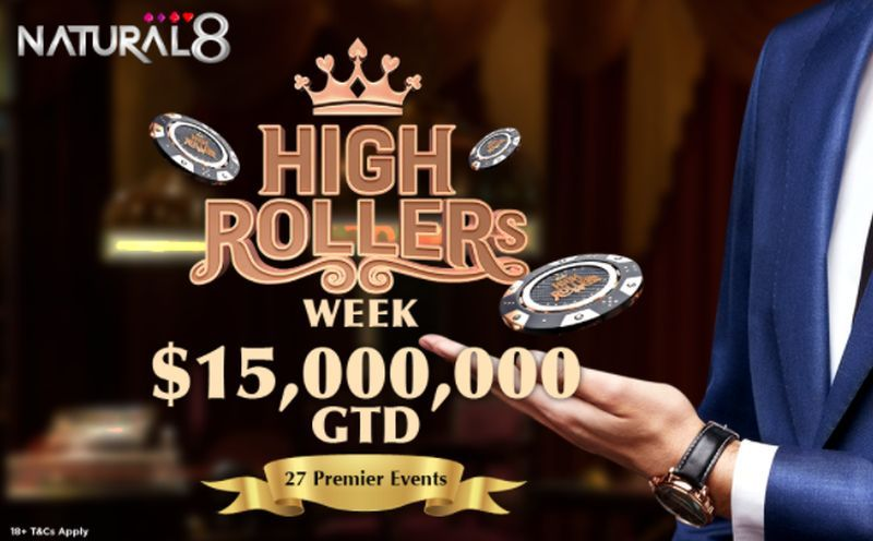 Massive Guaranteed Prize Pools To Be Won in the 2021 High Rollers Week