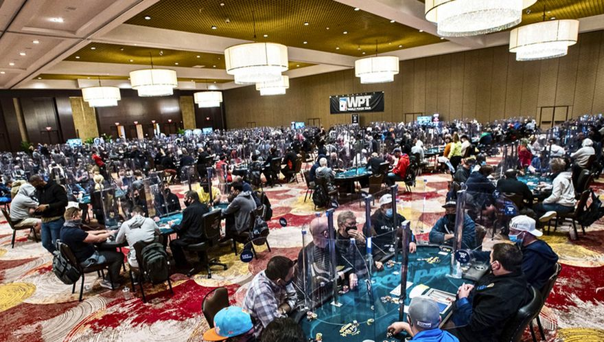 WPT Sees Main Event Record Entries Smashed in Hollywood