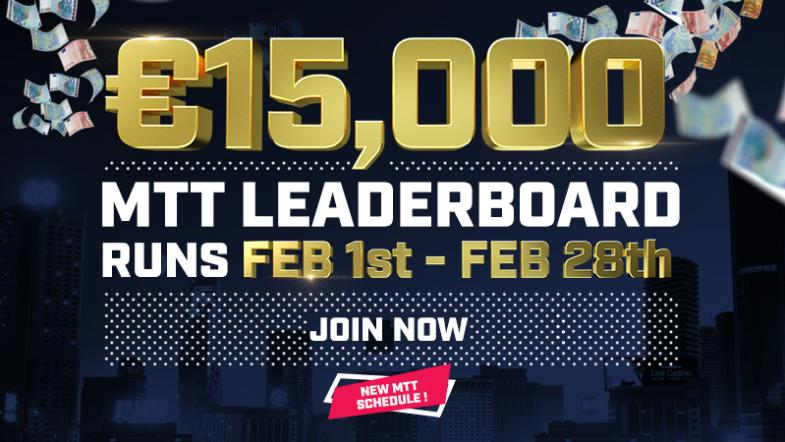 HighStakes MTT Leaderboard Feb 19