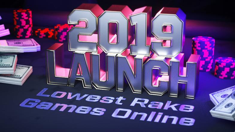 Lowest Rake Online