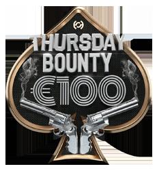 Thurs €100 Bounty