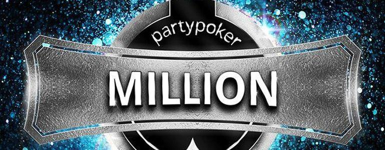 $1M GTD 'partypoker MILLION' Kicks off This Weekend