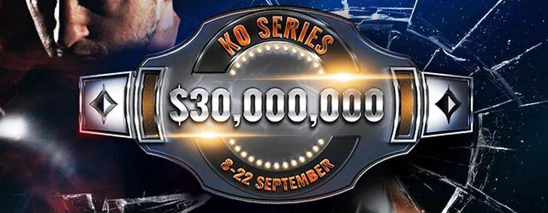 $30,000,000 Guaranteed KO Series Returns to partypoker on September 8th