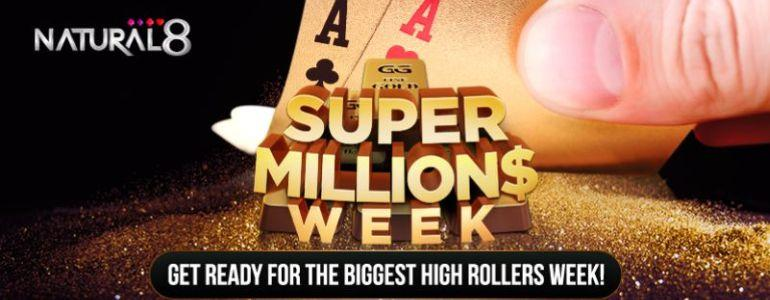 $30 Million in Guarantees During Super MILLION$ Week on Natural8