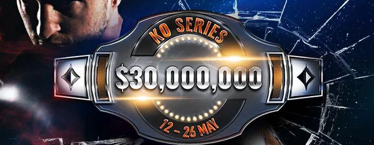 $30M KO Series Returns to partypoker This Weekend