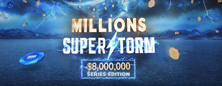 888Poker Launch $8,000,000 GTD SUPERSTORM