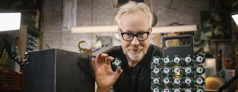 Adam Savage's Rounders Poker Chips and Case Replica!